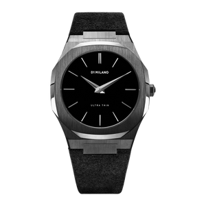 Ultra Thin Suede 40 mm - Volcano Black