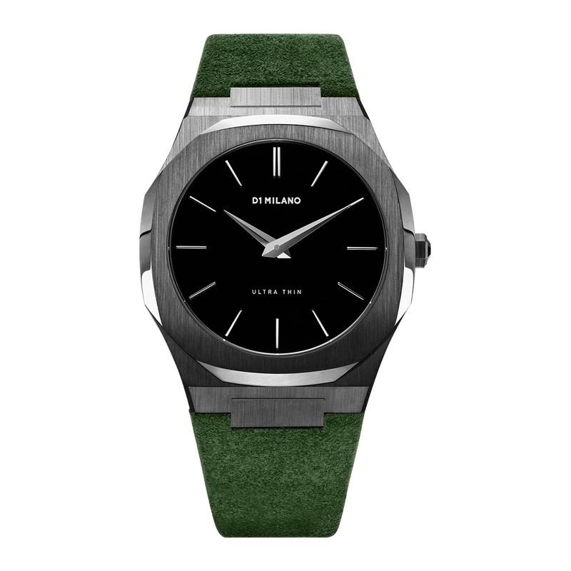 Ultra Thin Suede 40 mm - Como Green