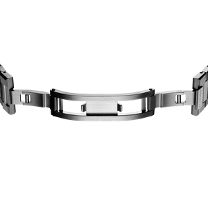 Ultra Thin Bracelet 40 mm - Gun Metal