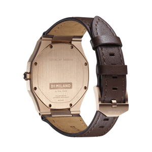 Ultra Thin Leather 40 mm - Moka