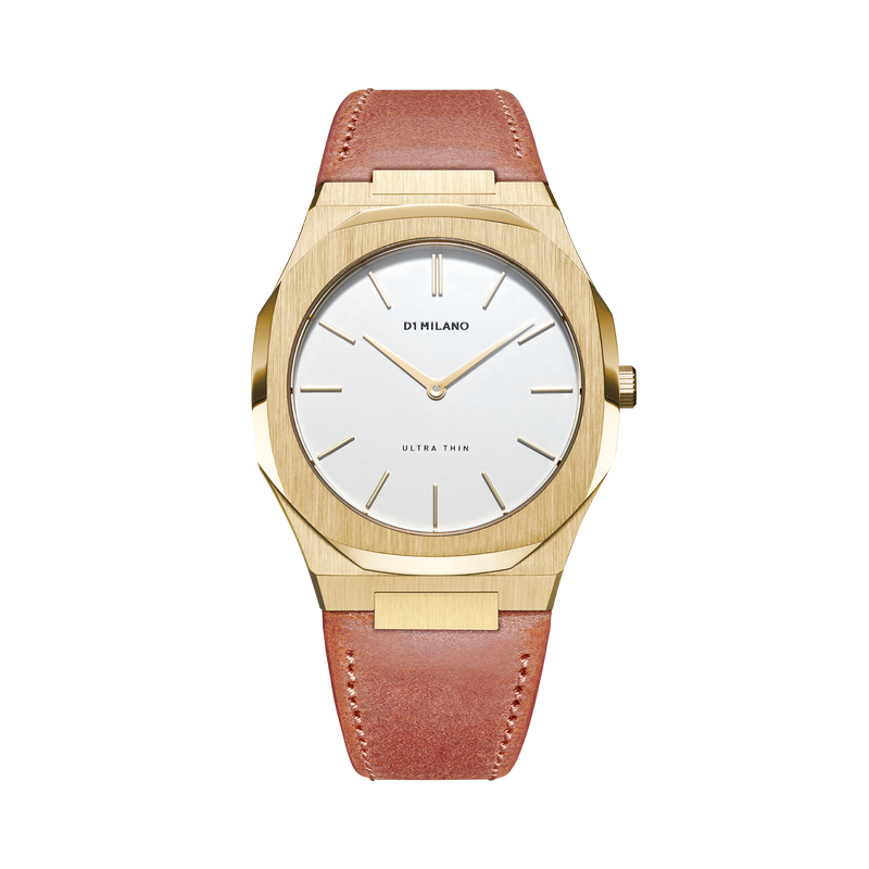 Ultra Thin Leather 38 mm - Siena SS19
