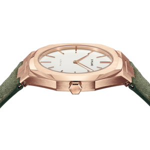 Ultra Thin Suede Leather 38 MM - Ulivo