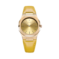 Ultra Thin Leather 34 mm - Citron
