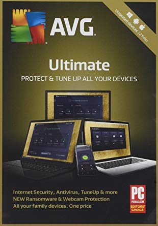 AVG ULTIMATE 2018 & AVG PC TuneUp - FOR UNLIMITED DEVICES