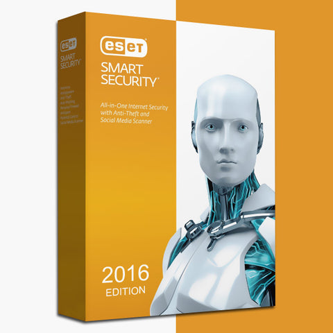 ESET Smart Security Version 9 GLOBAL Key PC 1 Year (1 Device)
