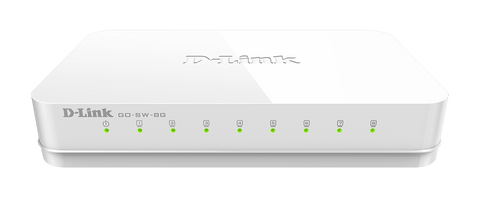 D-link 8-Port Unmanaged Gigabit Switch (GO-SW-8G)