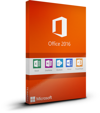Microsoft Office 2016 Professional Plus (DIGITAL KEY)