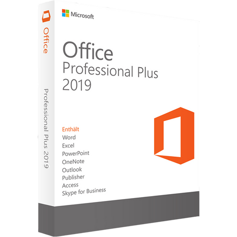 Microsoft Office 2019 Professional Plus (DIGITAL KEY)