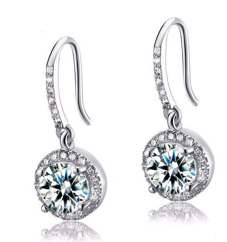 Sterling Silver Bridal Earring