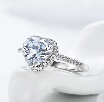 Sweet Heart Wedding Ring