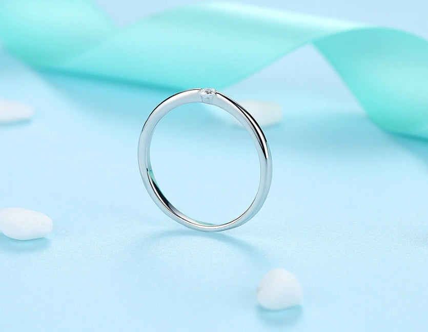 Zirconia Crystal Ring