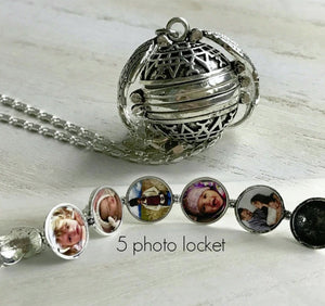 Photo Memory Necklace