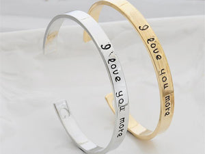 love You More Bracelets