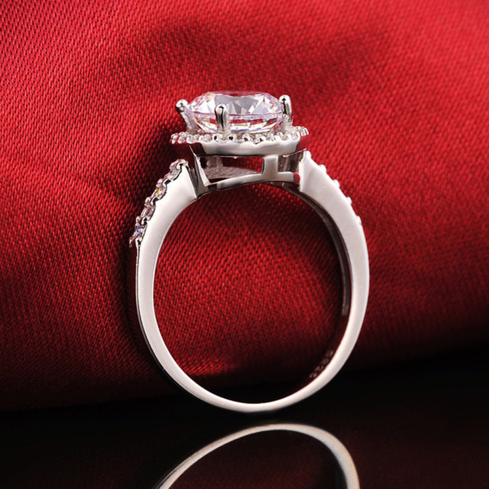 Princess Square Ring