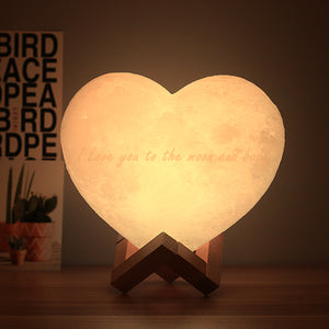 CUSTOMIZED HEART LAMP
