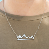 High And Low Mountain Necklace