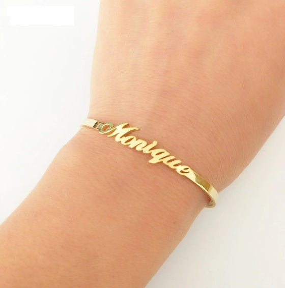 Cuff Style Bangle Bracelet