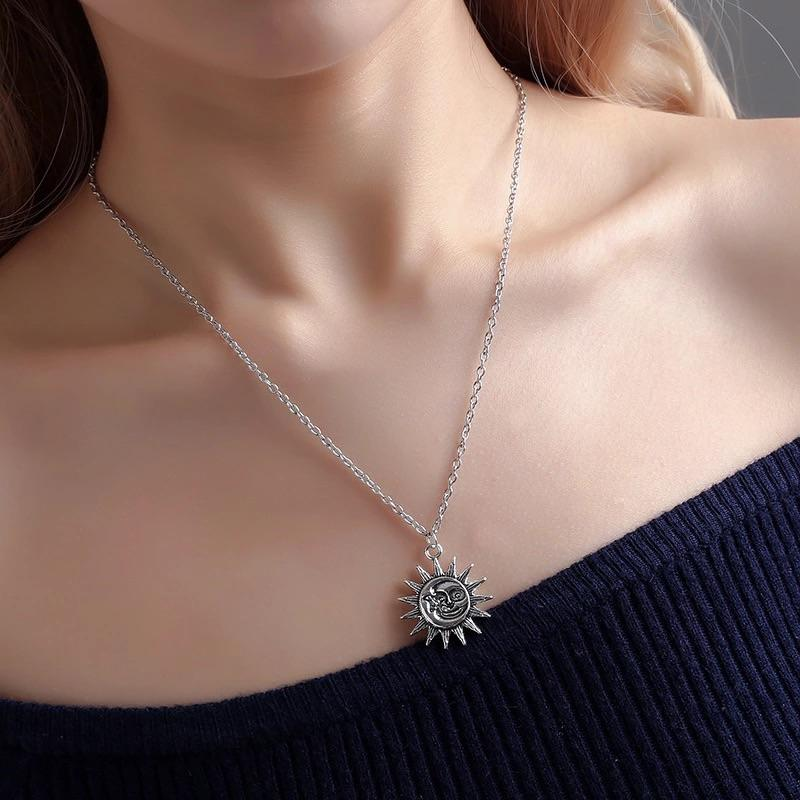 Sun/Moon Necklace
