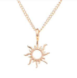 Good Vibes Only Sun Necklaces