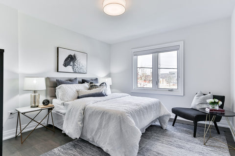 accent chair in bedroom