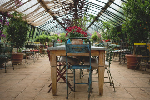 garden cafe interior furniture
