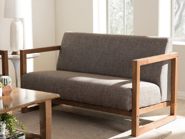 Alvin - Red Oak Furniture - Wooden Sofa