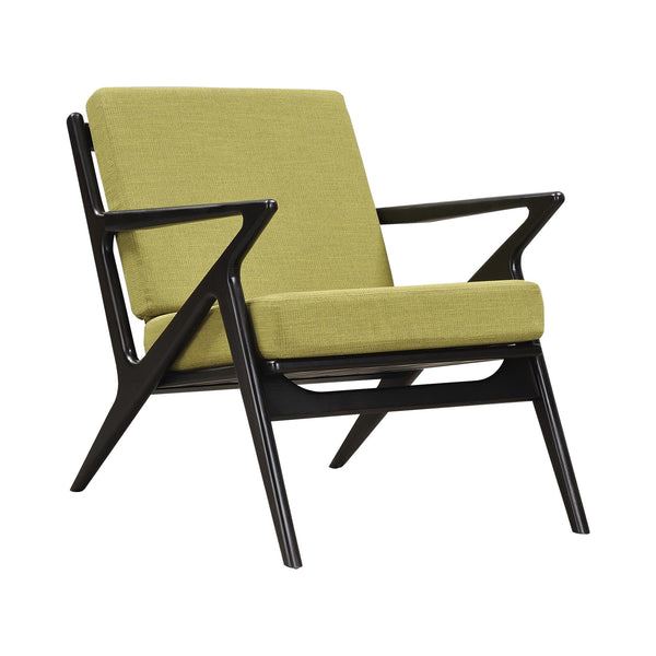 Clark - Red Oak Furniture - Wooden Lounge Chair