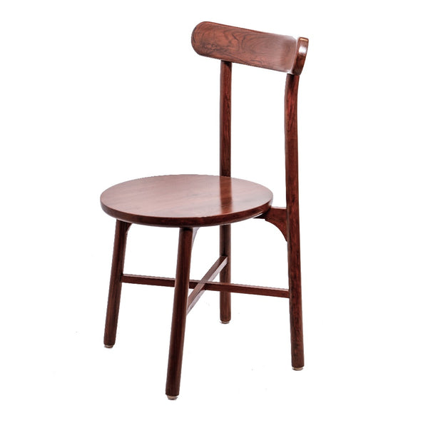 Curt - Red Oak Furniture - Teak Wood Dining Chair