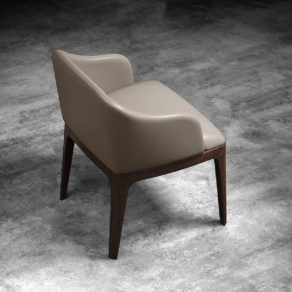 Garcy - Red Oak Furniture - Modern Dining Chair