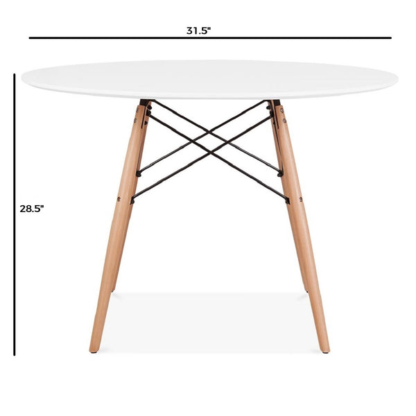 James - Red Oak Furniture - Cafeteria Table