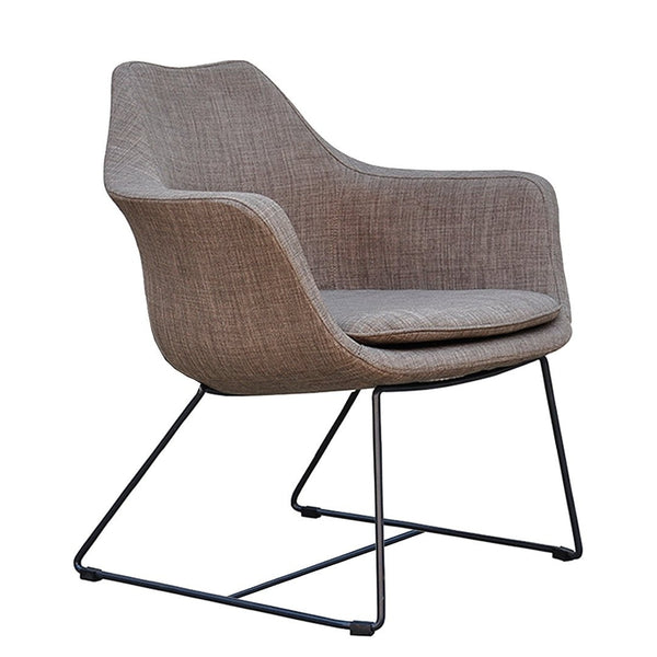 angel redoak india lounge chair metal legs molded seat furniture architects custom fabric leatherette cushion seat office lounge cafe restaurant coworking collaborative interior designers supplier manufacturer