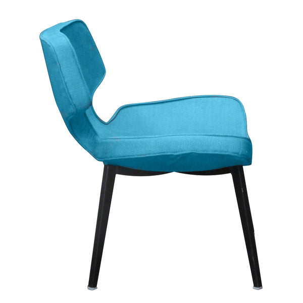 fable redoak lounge chair metal legs molded seat furniture architects custom fabric leatherette cushion seat office lounge cafe restaurant coworking collaborative interior designers