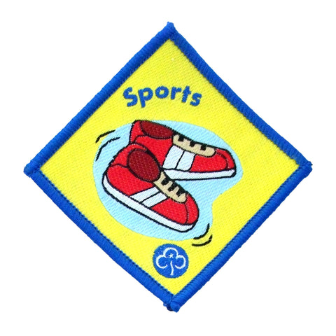 Brownie Sports Woven Badge