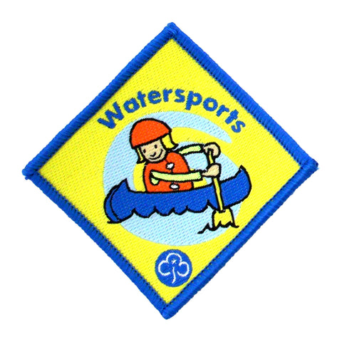 Brownie Watersports Woven Badge