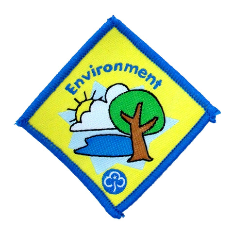 Brownie Environment Woven Badge