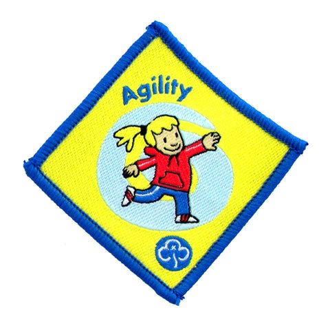 Brownie Agility Woven Badge