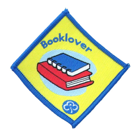 Brownie Booklover Woven Badge