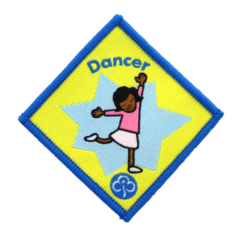 Brownie Dancer Woven Badge