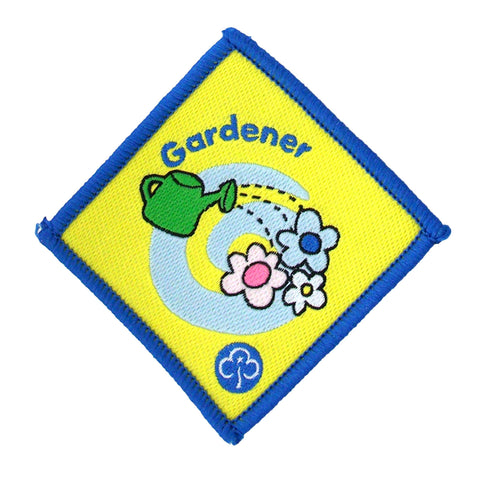 Brownie Gardener Woven Badge