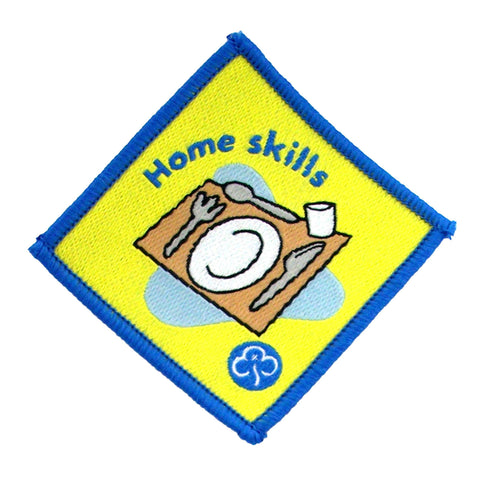 Brownie Home Skills Woven Badge
