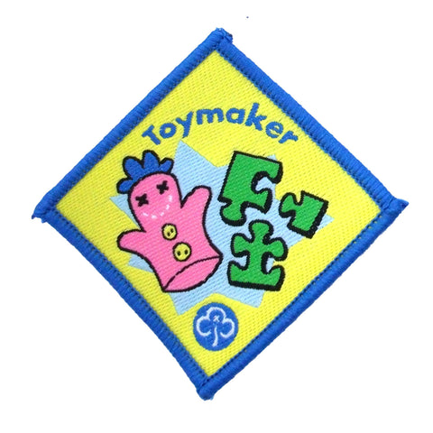 Brownie Toymaker Woven Badge