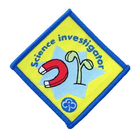 Brownie Science Investigator Woven Badge