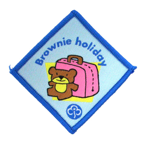 Brownie Holiday Advanced Woven Badge