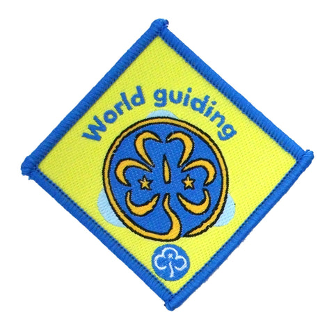 Brownie World Guiding Woven Badge