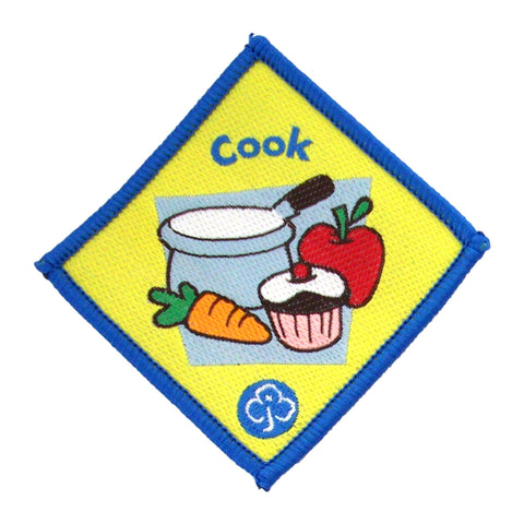 Brownie Cook Woven Badge