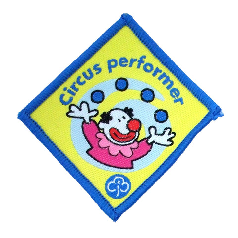Brownie Circus Performer Woven Badge
