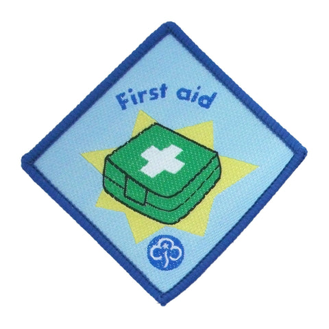 Brownie First Aid Advanced Woven Badge