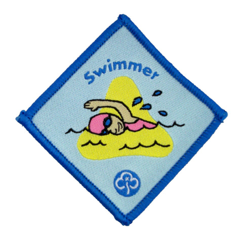 Brownie Swimmer Advanced Woven Badge