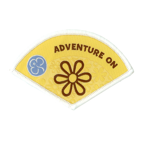Brownie Adventure On Woven Badge
