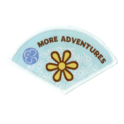 Brownie More Adventures Woven Badge